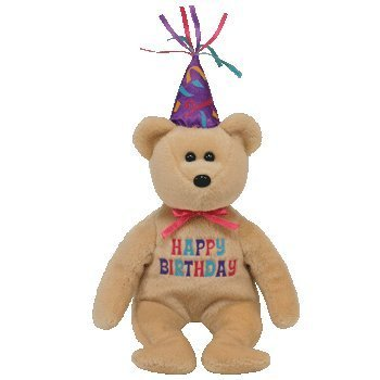 TY Beanie Baby Celebration Birthday Bear