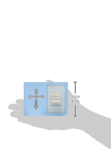 Amscan 459563.21 Frame 4 x 4 7//8 Blue