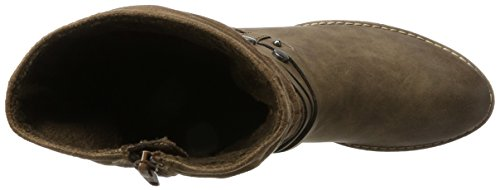 s.Oliver Women's 25315 Boots Brown (Mud Comb) 6x33QXs