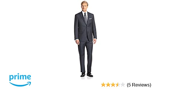 07658366a7c481 Amazon.com: Franklin Tailored Men's Sharkskin Tracy Suit: Clothing