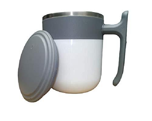 Anva Travel Plastic Steel Milk,Tea,Coffee Mug 300ml