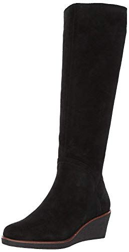 Aerosoles Women's Binocular Knee High Boot, Black Suede, 9.5 M US