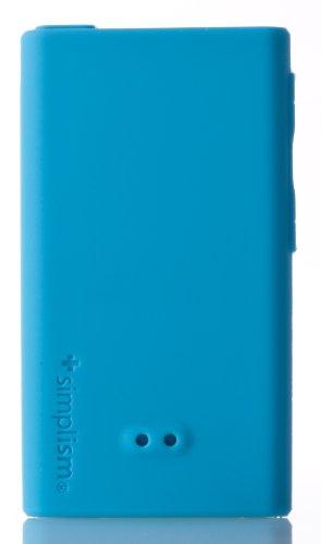 Simplism Japan Silicone Case Set for iPod nano 7 (Blue)