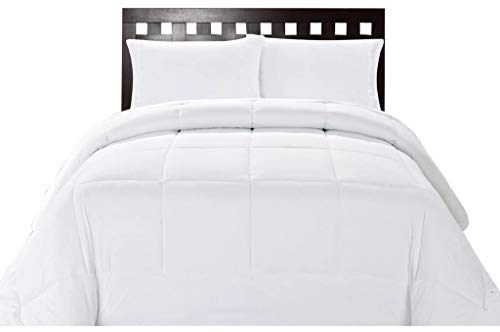 Bombay Home Store Down Alternative All Season King Size Lightweight Comforter - Plush Fiber Fill, Box Stitched by The Great American Store