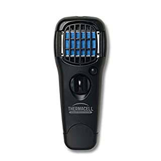 Thermacell MR150 Portable Mosquito Repeller, Black; DEET-Free, Scent-Free, Mess-Free Mosquito Repellent; 15 Foot Protection Zone