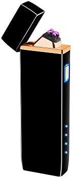 プラズマライター USB充電 電子ライター アークプラズマ ダブル放電式 [並行輸入品]