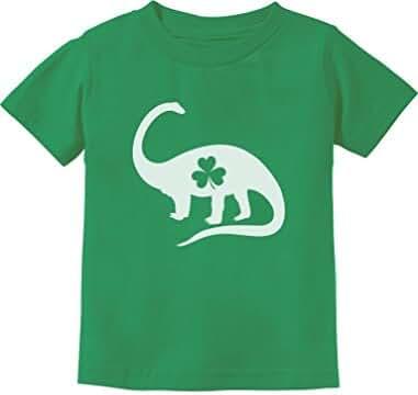 Irish Dinosaur Clover St. Patrick's Day Gift Toddler/Infant Kids T-Shirt