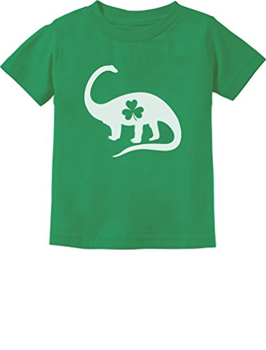 [Irish Dinosaur Clover St. Patrick's Day Gift Toddler/Infant Kids T-Shirt 2T Green] (St Patricks Day Shirts For Toddlers)