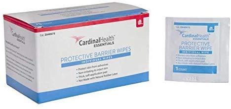 Cardinal Health Protective Barrier Wipes  1-1/4 x 3 (75/Box)