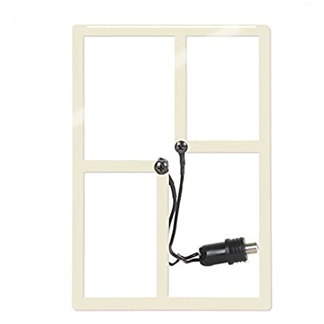 HD Frequency Cable Cutter Metro 25 Mile Indoor / Outdoor HD Digital TV Antenna (CC