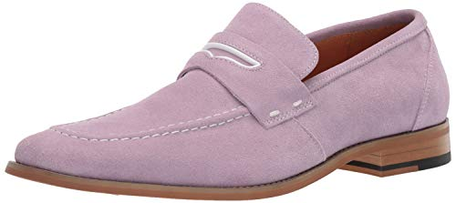 STACY ADAMS Men's Colfax Moc-Toe Slip-On Penny Loafer Lavender 11 M US