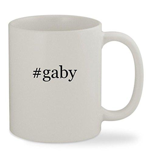 #gaby - 11oz Hashtag White Sturdy Ceramic Coffee Cup Mug
