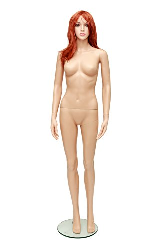Newtech Display MAF-P3-CHER4/SK Unbreakable Skin Mannequin by Newtech Display