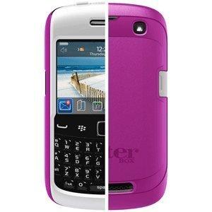 OtterBox Commuter Series Hybrid Case for BlackBerry 9350/9360 Curve - AVON Pink/White