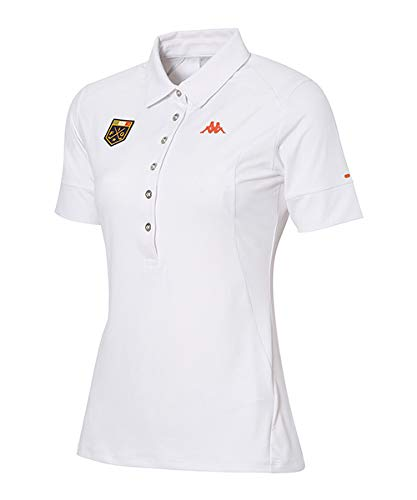 [カッパゴルフ] WOMENS KC722SS76 半袖シャツ L オレンジ B07R33MMW7