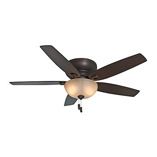 - Casablanca 54102 Durant 54-Inch Maiden Bronze Ceiling Fan with Five Walnut/Smoked Walnut Blades with Light Kit