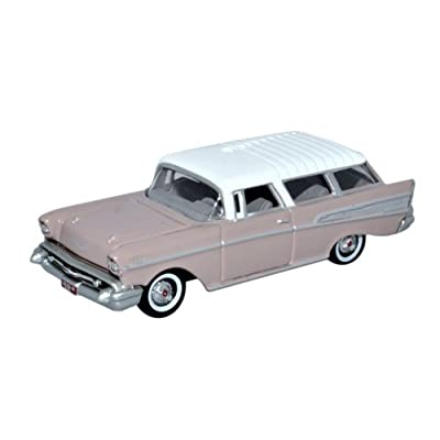 Oxford Diecast 87CN57001 Chevrolet Nomad 1957 Dusk Pearl/Imperial Ivory 1:87 Scale: Oxford: Toys & Games