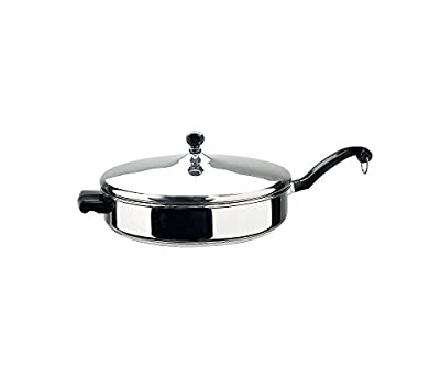 Farberware Classic Series Stainless Steel Covered Sauté Pan