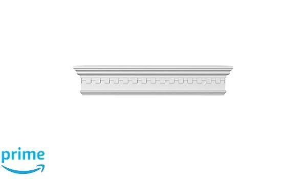 Ekena Millwork CRH06X30 Crosshead 30 Bottom Width x 33 1//2 Top Width Factory Primed White