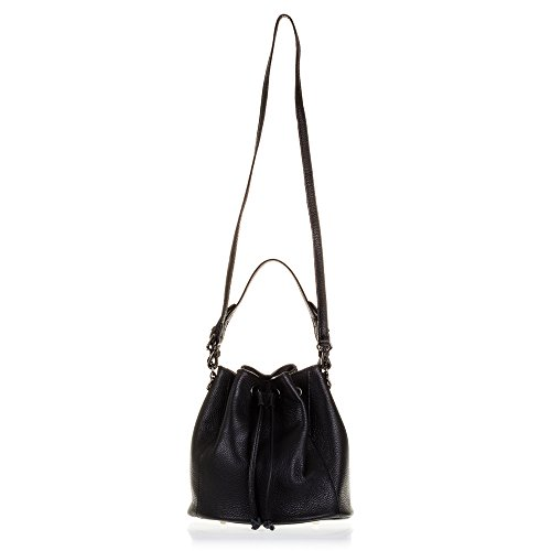 Con Hombro Cuero Piel Dollaro Black Acabado Black Color Negro Genuine Woman Cm Cm 25x25x25 Cierre Color Negro Artegiani De bolso Artegiani bolso 25x25x25 Vera Pelle Firenze Mujer Italian Italiana Pelle Mujer Dollaro Skin Italy Auténtica Skin Vera In Made Genuino Woman Leather Italy Finish Piel In Auténtica Made Closure Shoulder bolso Piel Drawstring Leather bolso De Cordón De Firenze Aq87v