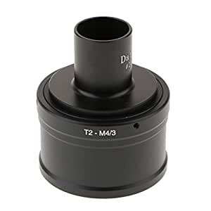 non-brand gazechimp - Adaptador microscopio de 23,2 mm y Anillo T ...