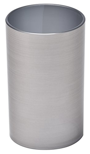 EVIDECO 6176107 Vanity Bath Water Tumbler NOUMEA Metallized Effect, Silver from EVIDECO