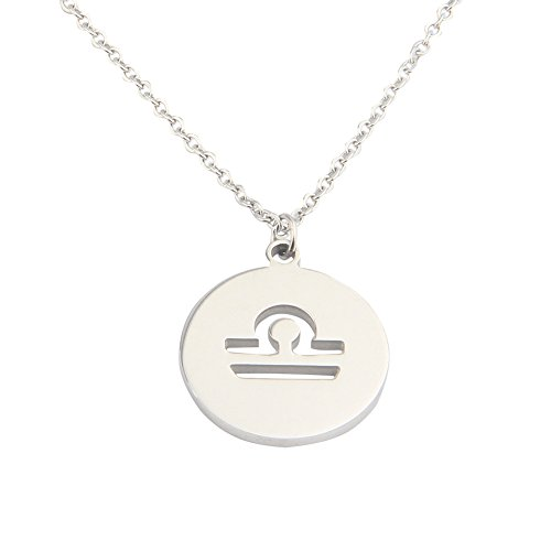 Zodiac Signs Stainless Steel Necklace