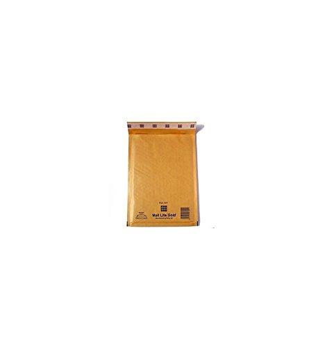 imballaggi2000 Buste Postali Imbottite Mail Lite Gold cm 24X33 Pezzi 100