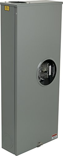 Square D by Schneider Electric UTH4330T 320A Ringless Meter Socket With Lever Bypass (Socket Meter 320a)