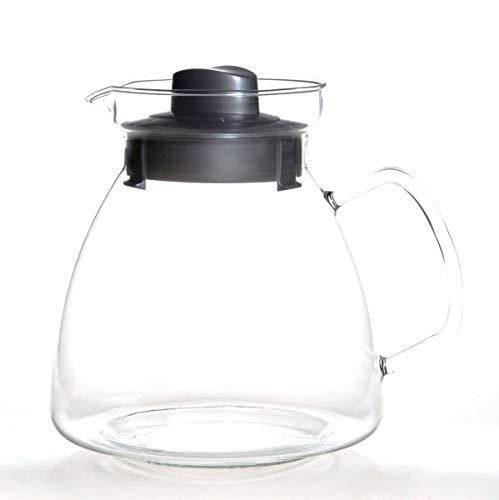 Tetera para microondas (2,1 L, con mango de cristal): Amazon ...