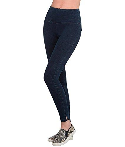 Lysse Leggings Denim Shaping Skinny Legging (6174A) 3X/White