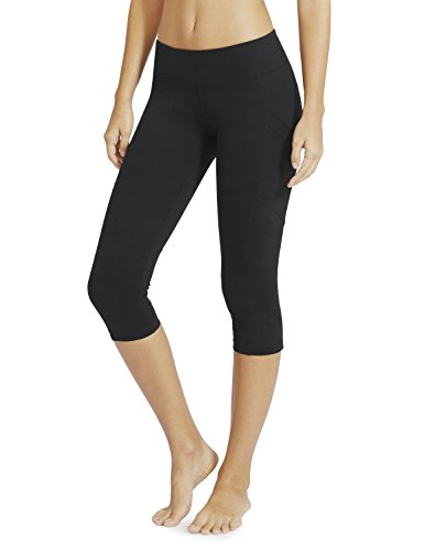 Baleaf Women's Yoga Workout Capris Leggings Side Pocket for 5.5″ Mobile Phone – DiZiSports Store