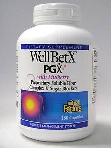 Natural Factors WellBetX PGX - 180 caps