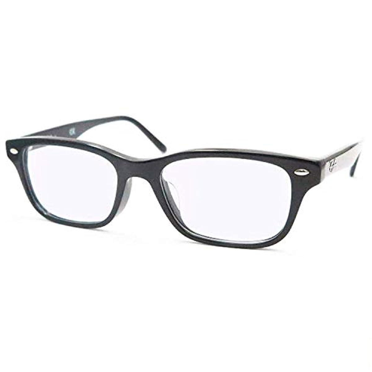 [해외] 【블루 라이트 컷 안경】레이밴RAY-BAN RX5345D- 2000&HOYA제 블루 라이트 컷【청색광 컷】PC안경 도 없음 블랙 셀