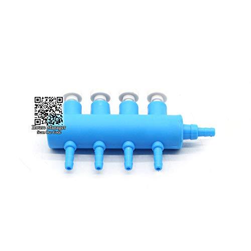 (D-World4Pet Aquarium Air Pump - Aquarium Air Pump Accessories- Connectors Air Valve Check Switch Control Adjust air Split-Flow for Air Tube Pipe Hose distribute)