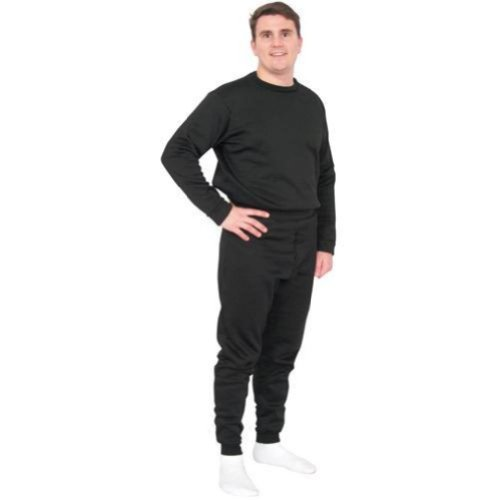 Fox Outdoor 64-97 BL 3XL Extreme Cold Weather Polypropylene Underwear Bottom, Black - 3X Large Military Polypropylene Thermal Underwear Bottoms