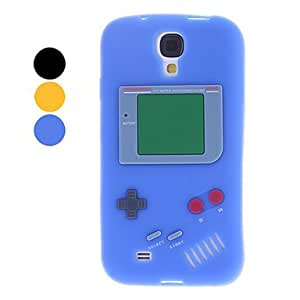 3D Design Game Machine Pattern Soft Case for Samsung Galaxy S4 I9500 (Assorted Colors) - COLOR#Yellow