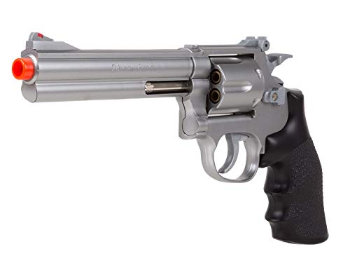 TSD Sports UA934S 6 Inch Spring Powered Airsoft Revolver (Silver)