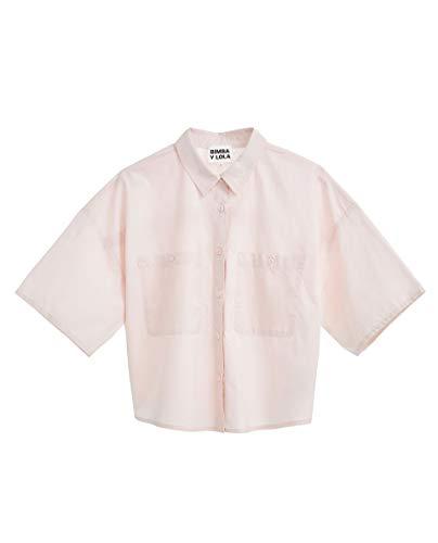 Donna Lola Bimba 191br2063 Short Y small x Pink Shirt Bn66px