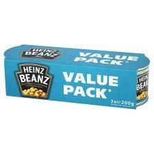 Heinz Baked Beans Value Pack 3 X 200G