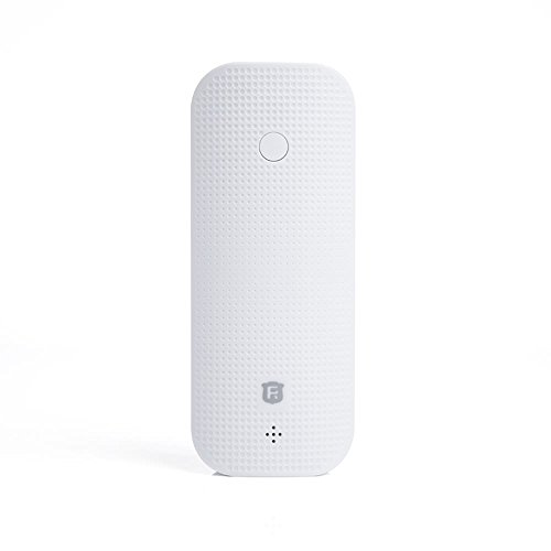 Julyfox Brand Myself Tracker Quad Band GSM GPS Global Location Door Magnetic Alarm 4500mah Power Bank Flashlight (White) ()