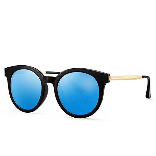 lunettes de soleil mode polarisée Blue rétro Lady RqPwdR