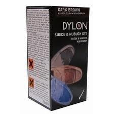 Dark Brown Suede and Nubuck Dye - Dark Brown