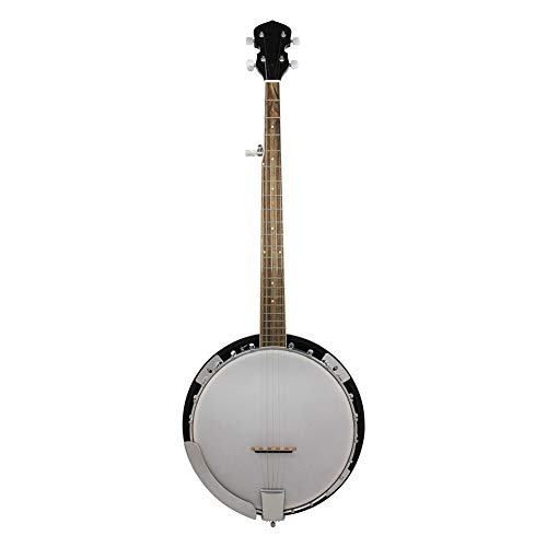 NUYI Five-String Banjo Scientific Wood Natural Color Hand-Made Adult/Child