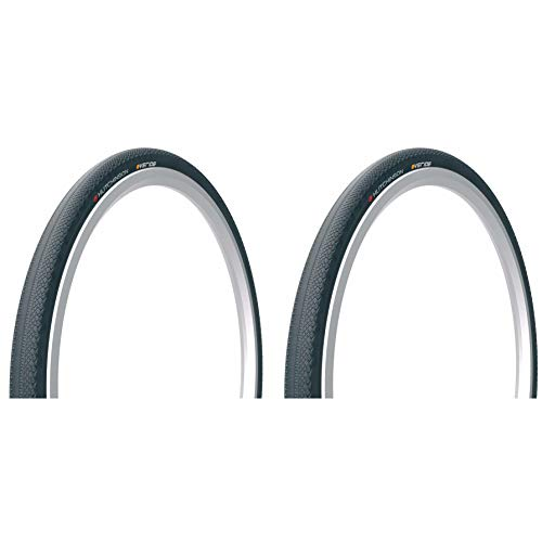 Hutchinson Overide Tubeless Ready Gravel Bike Tires | 2-Pack | 700cm x 38 | Folding Bead | Reinforced ()