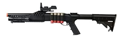 UKARMS Tactical Specialist RIS Spring Airsoft Shotgun FPS-320 w/ Accessories