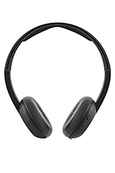Skullcandy Uproar Bluetooth Wireless On-ear Headphones With Built-in Microphone & Remote, 10-hour Rechargeable Battery, Soft Synthetic Leather Ear Pillows For Comfort, Black 1