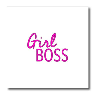 39febb627d Amazon.com: 3dRose EvaDane - Motivational Sayings - Girl Boss Pink ...