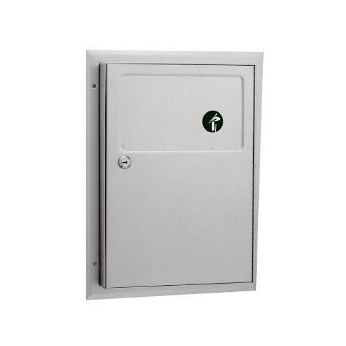 Bobrick - B-354 - ClassicSeries Partition-Mounted Sanitary Napkin Disposal Unit