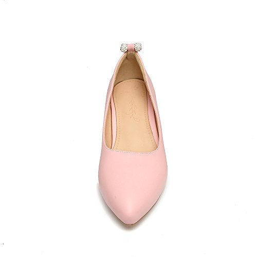 Shoes Loafers Pumps Slip Shine Show Womens On Fashion Beaded Pink Y8Yq0wx